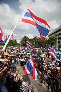 протесты в тайланде