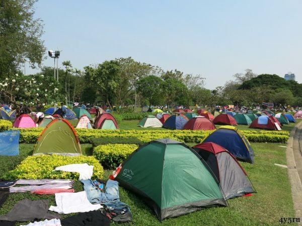 лагерь протестантов бангкок