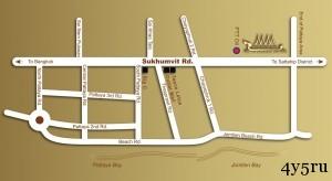 карта плавучий рынок паттайя