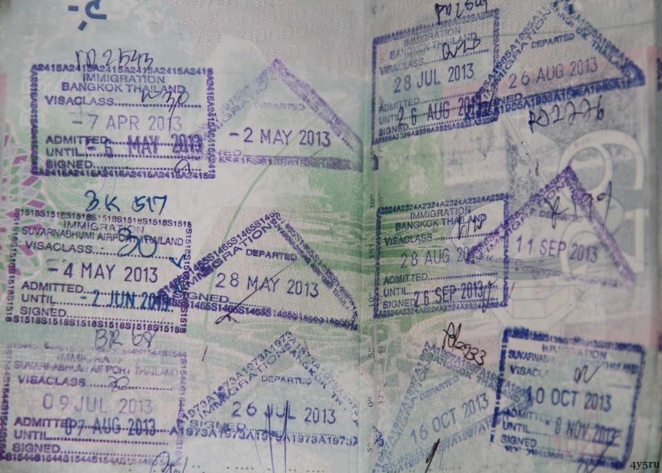 виза-ран тайланд