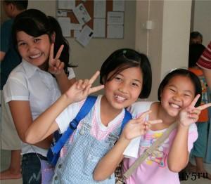 школьники таиланд