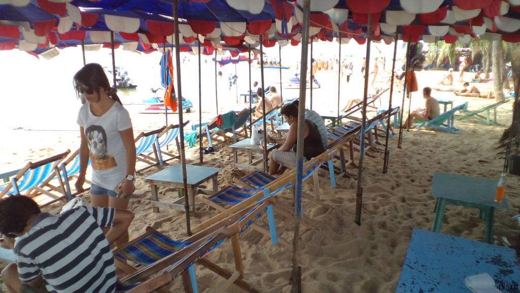 пляж на джомтьене