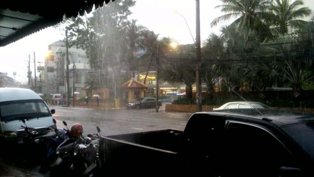 rain in pattaya