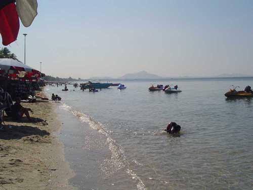 пляж бангсаен