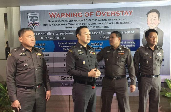 штрафы за оверстей в таиланде