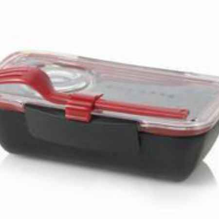 Купить Black+Blum Bento Box (0.5 л), черный, 19х12.5х5.5 см BT004