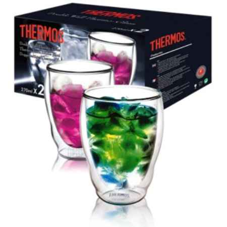 Купить Thermos Double glass Tumbler