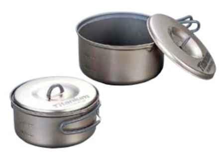 Купить Evernew ECA411 Ti Non-Stick Pot S Set