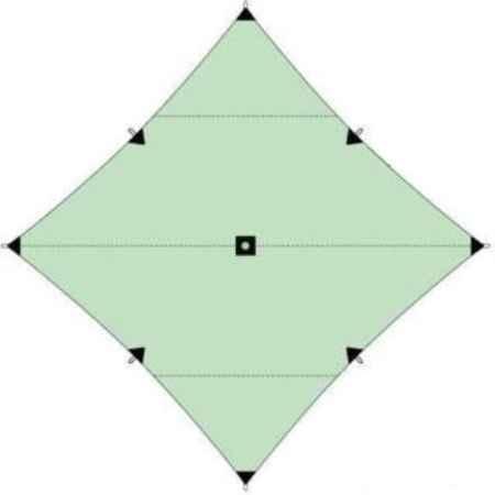 Купить Вольный ветер Пирамида 4х4 м