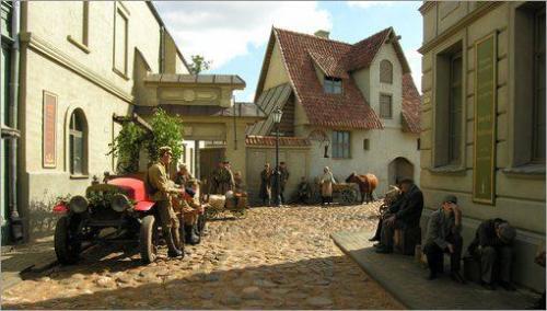 Киногородок в Латвии