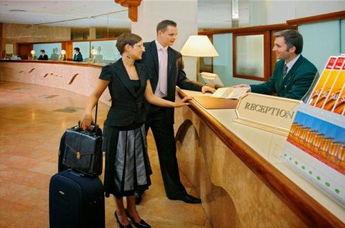 гости в отеле