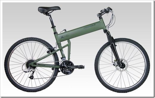 Хранение складного велосипеда