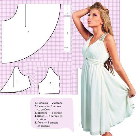 5e98ceff0a6 Как сшить летнее платье