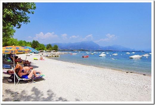 Пляжи озера Гарда