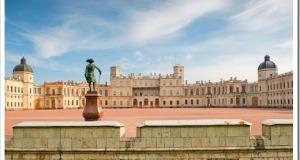 Дворцы, парки и заповедные места Гатчины