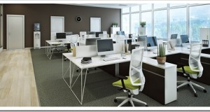 Open space офис в БЦ
